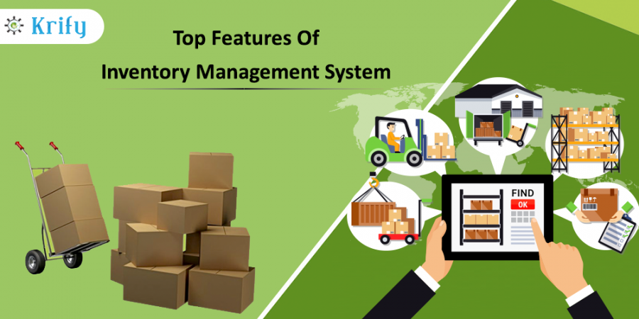 Top Features of the inventory management system