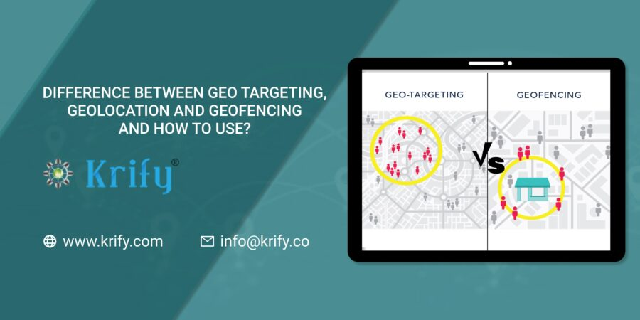 Difference between Geofencing, Geo-location, and Geotargeting and how to use it?