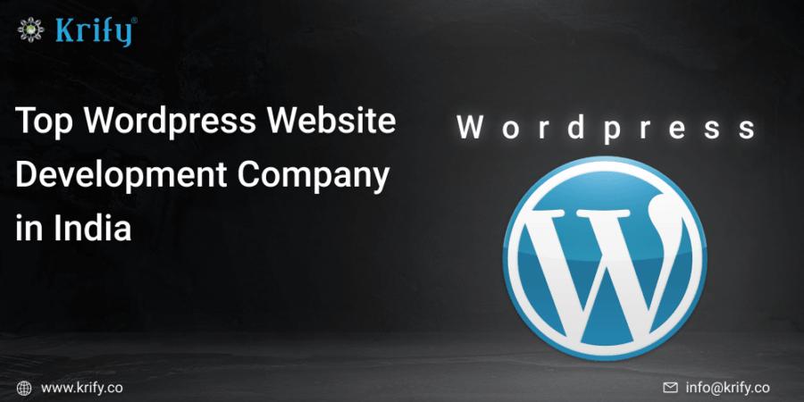 Top WordPress Website development company in India