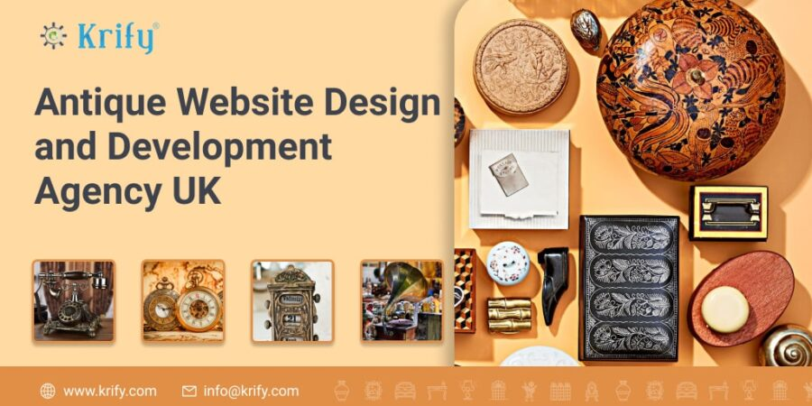 Antique Website Design and Development Agency UK