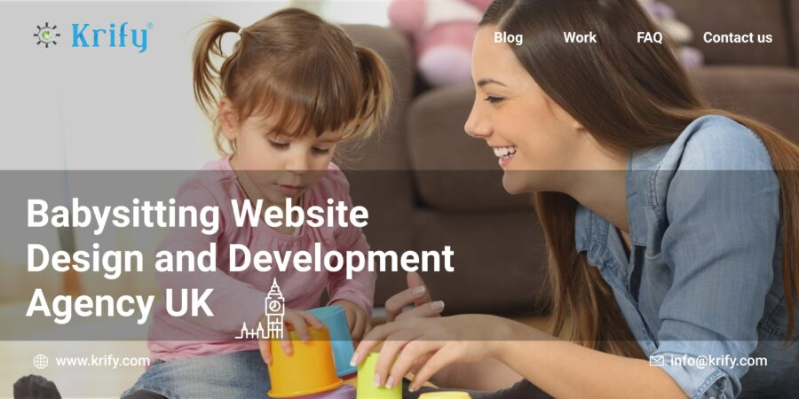 Babysitting Website Design and Development Agency UK