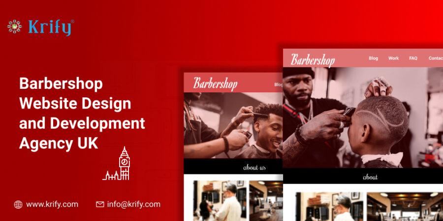 Barbershop Website Design and Development Agency UK
