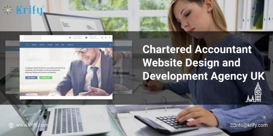 Chartered Accountant Website Design and Development Agency UK