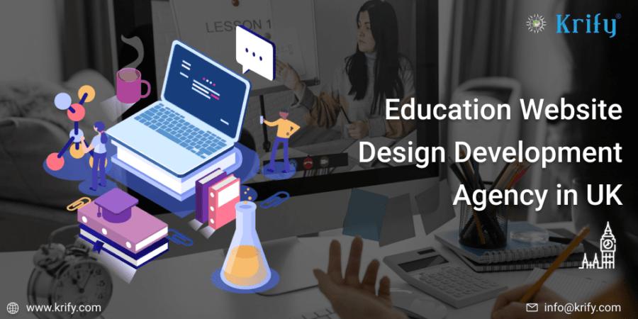 Education Website Design Development Agency in UK