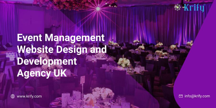 Event Management Website Design and Development Agency UK