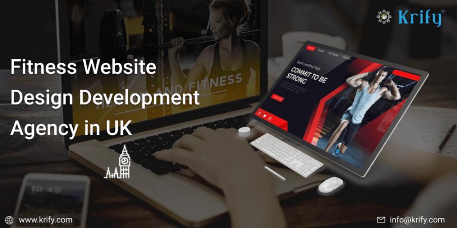 Fitness Website Design Development agency in UK