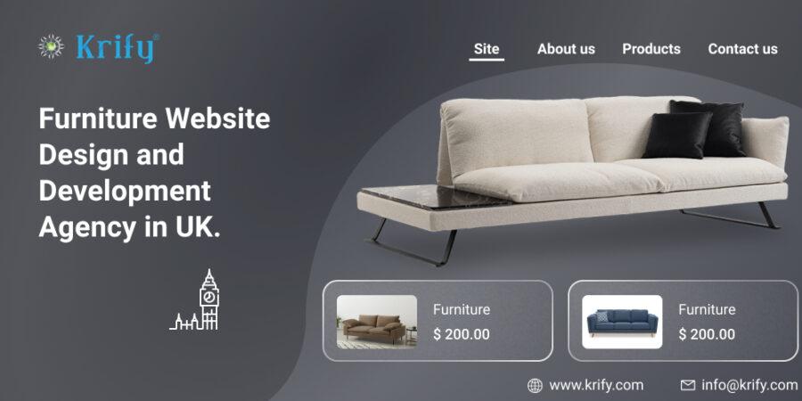 Furniture Website Design and Development Agency UK