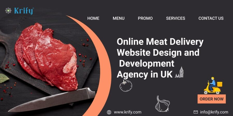 Online Meat Delivery Website Design and Development Agency