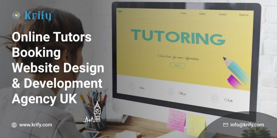 Online Tutors Booking Website Design and Development Agency UK