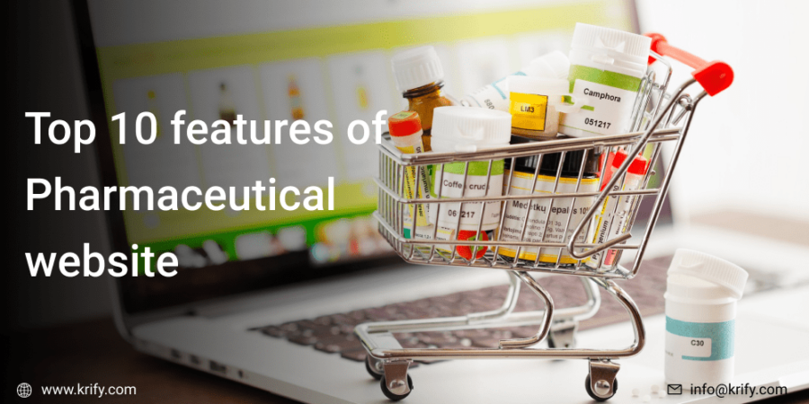 Top 10 Features for a Pharmaceutical Website