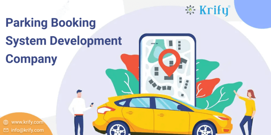 Parking Booking System Web Design