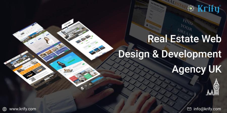 Real Estate Web Design &  Development Agency UK