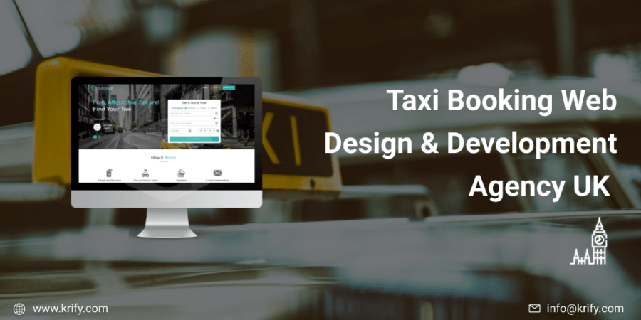 Taxi Booking Web Design & Development Agency UK