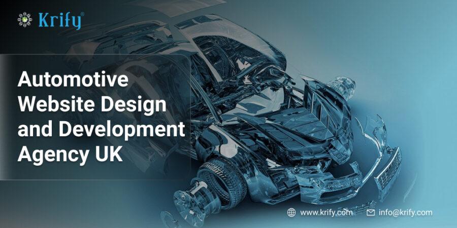 Automotive Website Design and Development Agency UK