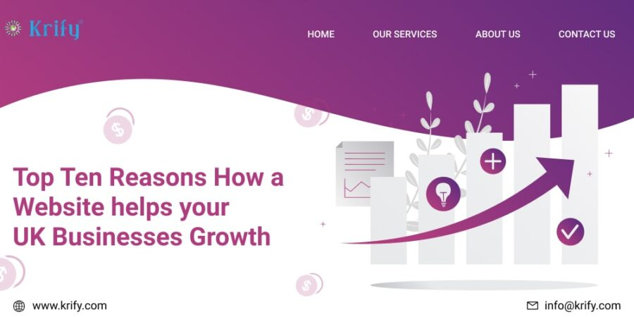 Top Ten Reasons How a Website helps your UK Businesses Growth